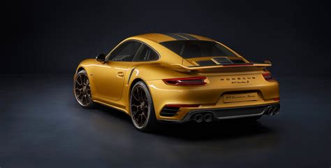 Porsche 911 Turbo S Exclusive Series Is The Most Powerful