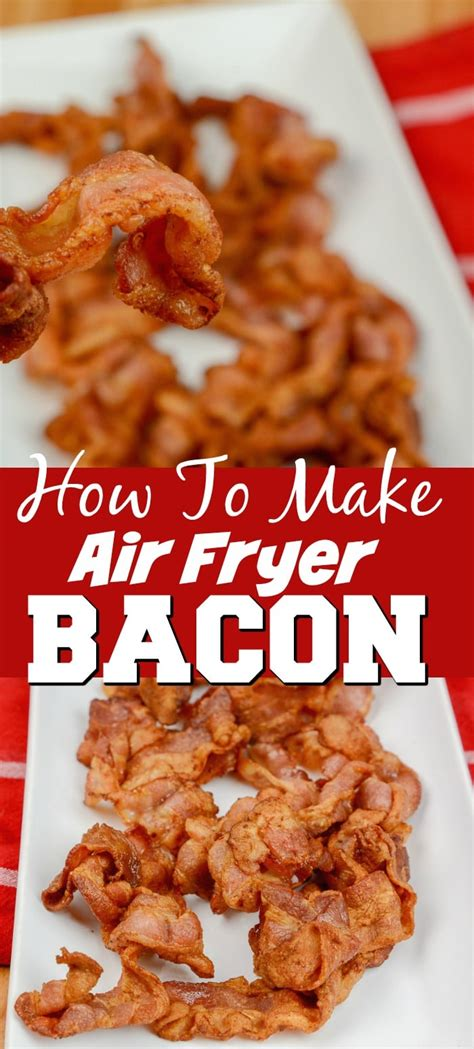 bacon fryer air cook