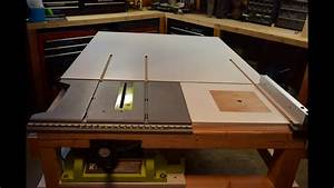 Part 2  How To Build A Homemade Table Saw Extension With