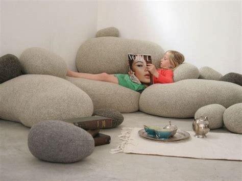 pouf exterieur  idees de deco pour votre espace