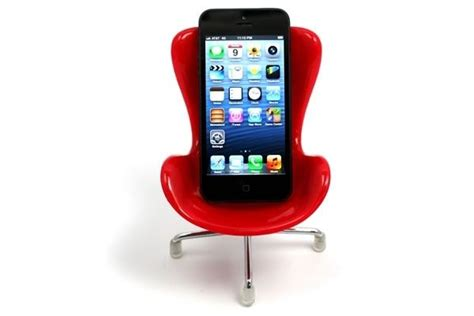 cell phone holder chair cell phone holder neatorama