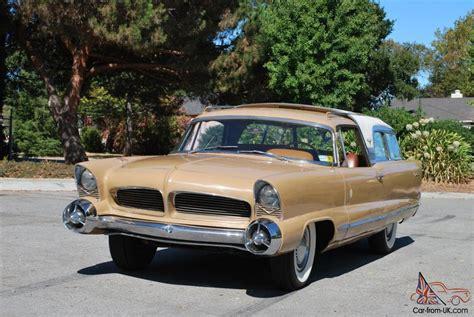 Chrysler Car : 1956 Chrysler Ghia Concept Car Station Wagon By Virgil
