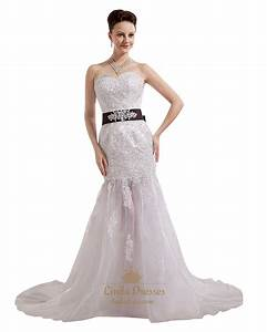 ivory organza applique sweetheart mermaid wedding dress With ivory and bronze wedding dresses