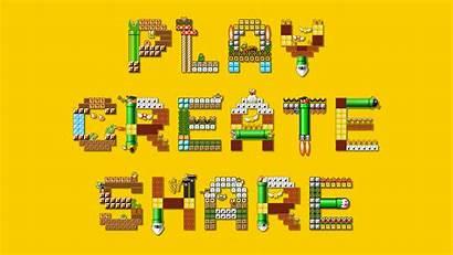 Mario Maker Super Wallpapers Dlc Backgrounds Levels