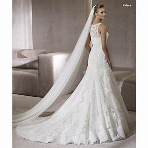 mermaid beaded lace satin long off white wedding dress With long white wedding dresses