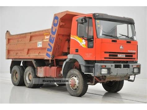 6x6 1997 Tipper Truck Photo And Specs