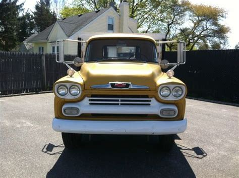 purchase   chevrolet apache  farm truck