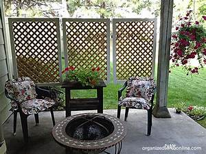 17 best ideas about outdoor privacy screens on pinterest for Simple and easy backyard privacy ideas