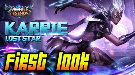 Karrie First Look! |mobile Legends