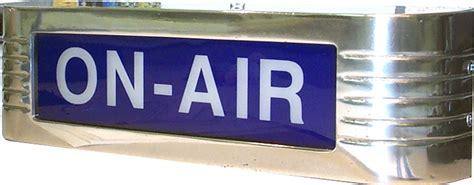 studio on air light cbt systems 120v classic studio warning light on air