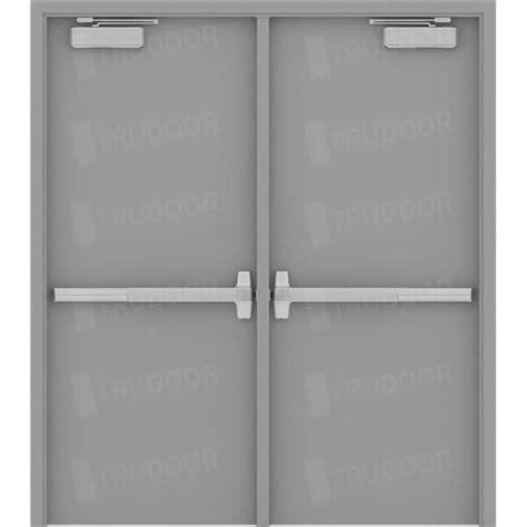 hollow metal doors steel doors hollow metal door pair