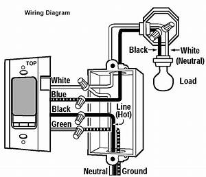 Dimmer Switch Wiring Diagram For Home