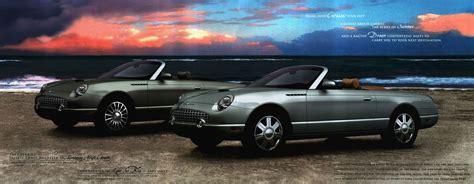 2004 Ford Thunderbird brochure