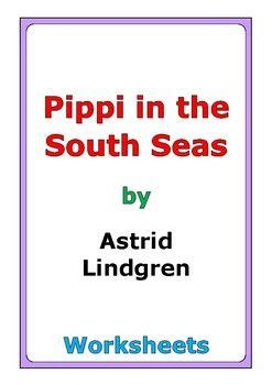 astrid lindgren pippi   south seas worksheets