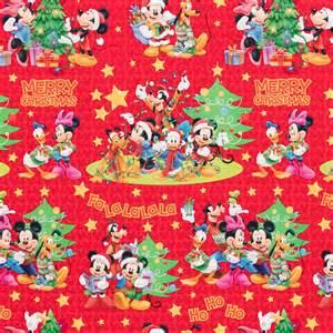 b m gt disney christmas wrap mickey friends red 4m 2723602