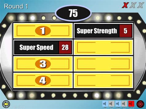 family feud game ideas  pinterest play family