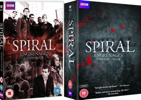 Fresh Off The Boat Season 4 Uk Release Date by Spiral Season 4 Uk Dvd Release Date And Cover