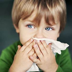 Best ways to treat cold and flu in kids  Blowing