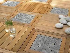 Terrasse Holz Stein : bangkirai terrasse gestalten vorteile und nachteile vom terrassenholz ~ Watch28wear.com Haus und Dekorationen