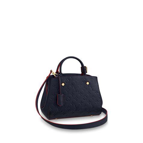 montaigne bb monogram empreinte leather handbags louis vuitton