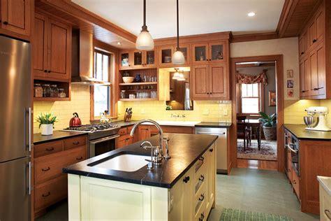 minneapolis kitchen remodel captures  true craftsman