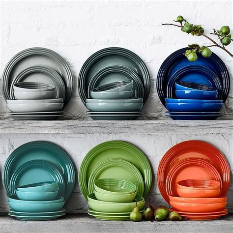 le creuset dinner plates williams sonoma au