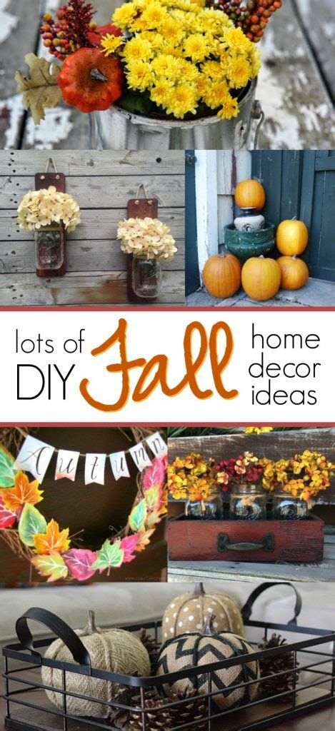 15 Diy Fall Home Decor Ideas To Try  Love These Autumn