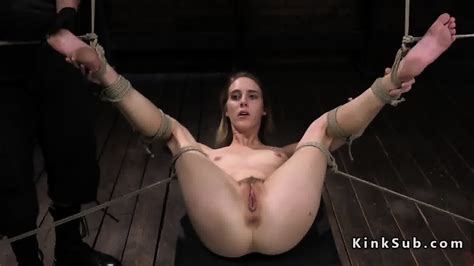 Blonde In Suspension Bondage Squirting EPORNER