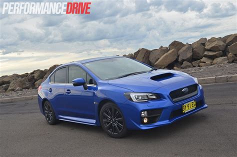 subaru wrx 2015 subaru wrx premium review video performancedrive