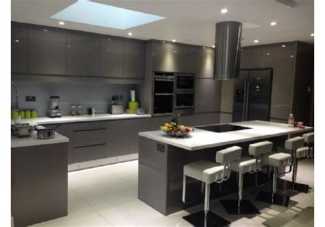 Lacquer kitchen cabinet manufactuer, high gloss kitchen