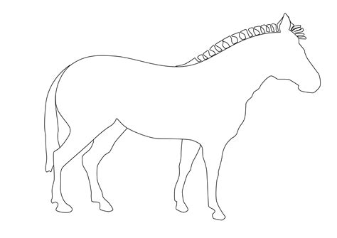 animal outline drawings clipartsco