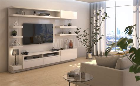 modulus muebles de diseno contemporaneo wall unit living
