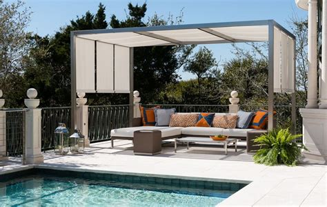 framed pool canopy cover 20 stylish outdoor canopies for the home