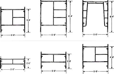 standard sidewalk dimensions sales rentals eastern scaffolding shoring ny