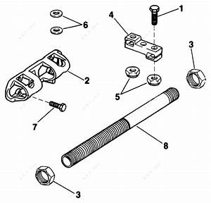 Evinrude 1991 150 - Ve150txeie  Dual Cable Steering Kit175sl  175stl