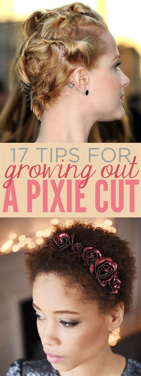 Hairstyles For Growing Out A Pixie Cut by 17 Things Everyone Growing Out A Pixie Cut Should