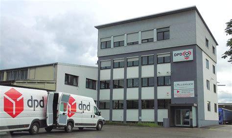 DPD in Augsburg (Depot 186) DPDPaketzentrum