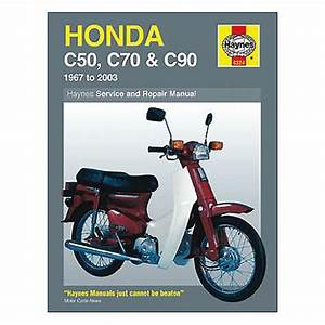 Haynes Repair Manual For Honda Cub C50  Cub C90  And