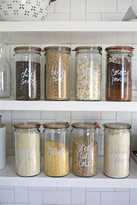 kitchen jars ideas  pinterest kitchen