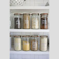 25+ Best Ideas About Kitchen Jars On Pinterest  Organized