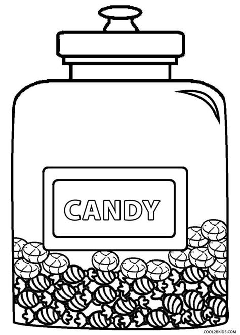 printable candy coloring pages  kids coolbkids