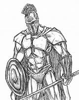 Spartan Drawing 300 Drawings Spartans Cool Sketch Coloring Symbols Dessin Credit Larger Enregistree Depuis Google sketch template