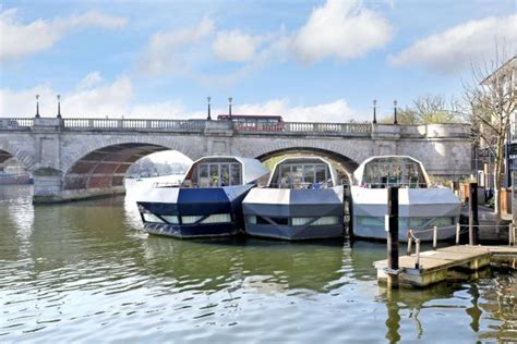 Houseboat Kingston by Panther Quay Kingston Upon Thames Kt1 2 Bedroom
