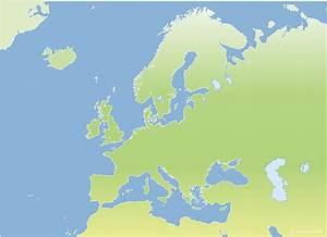 Carte Europe Media Nav Gratuit : fond de carte vectoriel de l 39 europe gratuit ~ Medecine-chirurgie-esthetiques.com Avis de Voitures