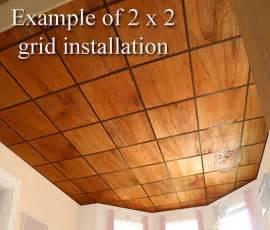 oak veneer ceiling tiles at wishihadthat
