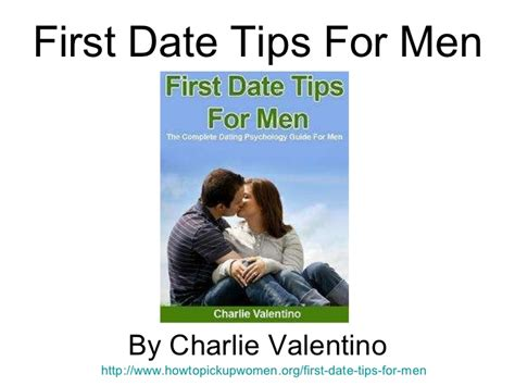 First Date Tips For Men