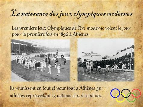 les jeux olympiques de l antiquit 233 ppt t 233 l 233 charger