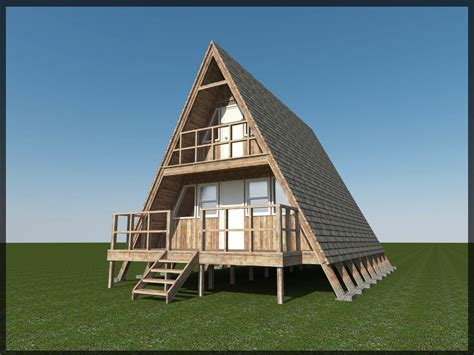 what is an a frame house 3d model 24 a frame cabin