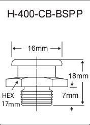"""3/8""""-19 BSPP Button Head Zerk Fittings"""