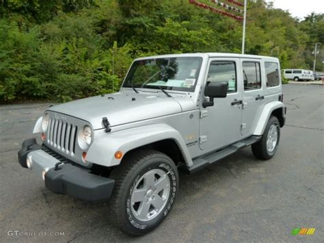 jeep sahara silver 2012 bright silver metallic jeep wrangler unlimited sahara